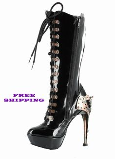 Ugh, I need!!!    Metropolis Shoes Steampunk Zeppelin Boot  http://stores.hoodooshoes.com/-strse-Metropolis/Categories.bok