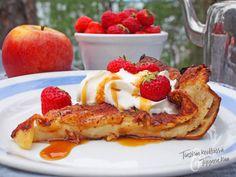 Ihan paras omena- kanelipannukakku / Tinskun keittiössä ja Tyynen kaa