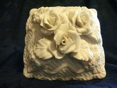 Antique Styled Porcelain Music Box Applied by PrettyLilThings1912, $15.00