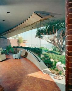 John Lautner - What a window/ view! ...now go forth and share that BOW & DIAMOND style ppl! Lol. ;-) xx