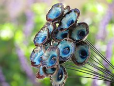 Ceramic flowers One flower, so many possibilities jewelry and ...