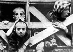 Deportation of Jewish children from the Warsaw Ghetto to a death camp
