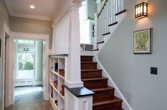 trim along stairs