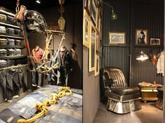 Wrangler stand at Bread and Butter by The Dog & Wardrobe store design