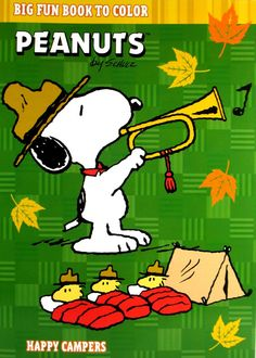 Happy Campers Peanuts Cartoon, Peanuts Snoopy, Peanuts Images, Snoopy Beagle, Thanksgiving Cartoon, Manado, Snoopy Pictures, Snoopy Quotes, Boy Scouting