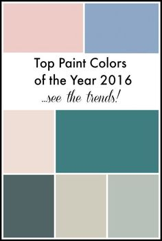 Top Paint Colors of