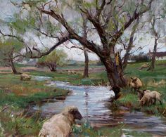 Daniel F Gerhartz Watercolor Landscape, Landscape Paintings, Watercolor Art, Scenery Paintings, Amazing Paintings, John Singer Sargent, Alphonse Mucha, Wisconsin, Commercial Art