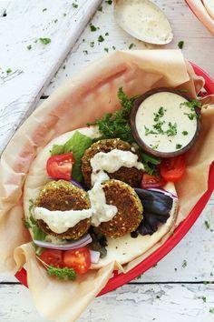 Easy Vegan Falafel   Minimalist Baker Recipes