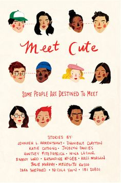 """This giveaway is sponsored by HMH Teen. Meet Cute is an anthology of original short stories featuring tales of """"how they first met"""" from some of today's mo"""