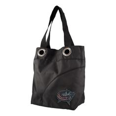 Columbus Blue Jackets NHL Sport Noir Sheen Tote