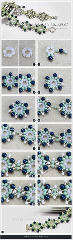 how to make a beaded bracelet