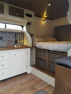 20 Awesome Sprinter Camper Van Conversion - life bathroom ideas life ideas life ideas beds life ideas tips life tips