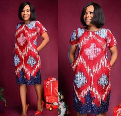 Check out their cool and breezy Ankara style et mode African Print Dresses, African Print Fashion, African Fashion Dresses, African Dress, African Attire, African Wear, African Women, African Beauty, Ankara Clothing