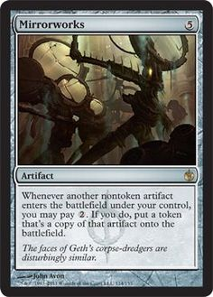 Magic: the Gathering - Mirrorworks - Mirrodin Besieged by Wizards of the Coast…