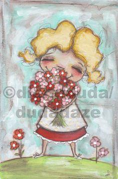 Cereal Box Art  Smells Like Spring  Original Artwork by me, Diane Duda. ©dianeduda/dudadaze