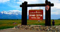 Grand Teton National Park outside Jackson, Wyoming, June 2014