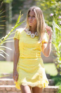 Glam4You por Nati Vozza | Meu Look: Amarelo