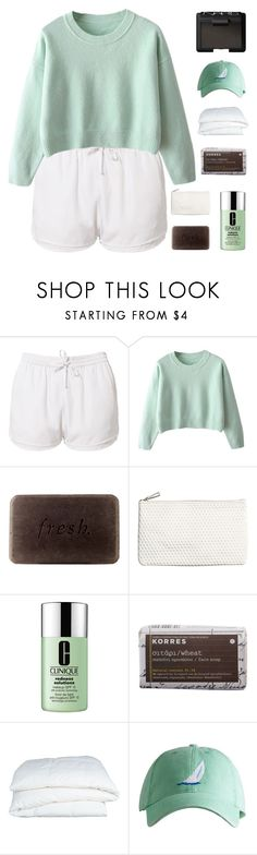 """""""kai"""" by sunstorms ❤ liked on Polyvore featuring Estradeur, Fresh, H&M, Clinique, Korres, Crate and Barrel, NARS Cosmetics and bathroom"""