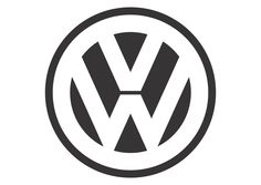 """Volkswagen - Founded: Founder: German Labour Front & Adolf Hitler. The Volkswagen logo comprises of the company's initials – a """"V"""" placed over a """"W"""". Vw Logo, Volkswagen Logo, Volkswagen Models, Sticker Auto, Bumper Stickers, Car Decals, Vw Emblem, Popular Logos, Marken Logo"""