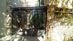 Véranda en acier JANSEN vitrage isolant toiture vitrée / Réalisation sur mesure / Ferronnerie Bouzac Aussillon