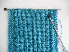 Breien MET haken en ogen: Patroon voor een ronde sjaal 2