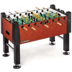 Carrom Signature Foosball Table Moroccan