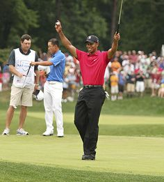 Tiger Woods wins the 2009 AT&T National