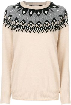 N.Peal jewelled fairisle jumper. Jumper sweater fashions. I'm an affiliate marketer. When you click on a link or buy from the retailer, I earn a commission.