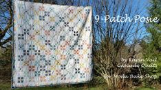 9-Patch Posie Quilt « Moda Bake Shop