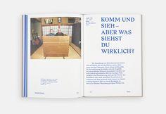 Komm und sieh on Editorial Design Served