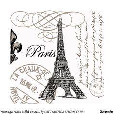 laminas para decoupage blanco y negro torre eiffel - Buscar con Google