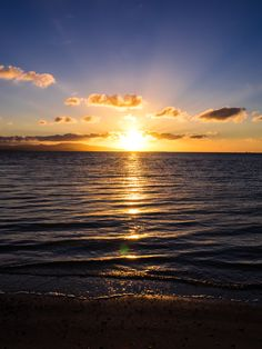 Sunset, West Pier, Taketomi Island, Okinawa