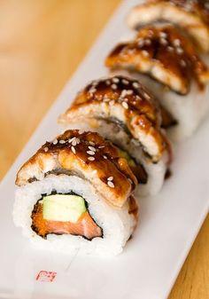 Tora No Maki Sushi Roll