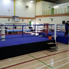 3 rings going up for the juniors MuayThai kickboxing championships