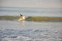 perfect wave for beginner in kuta beach