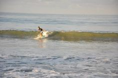 perfect wave for beginner in kuta beach