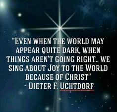 Dieter F. Uchtdorf, LDS Christmas Devotional 2015. #ChristmasDevo