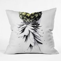 Pineapple Outdoor Throw Pillow.