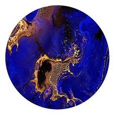 Laguna Blue Acrylic Art by United Interiors | Zanui