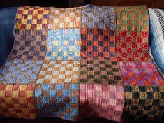 Squares in a Square #quilt