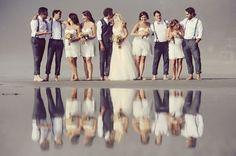 Melbourne Australia Beach Wedding Theme | Summer Wedding Style Bridesmaids | Wedding Fashion | Wedding Photos #bride #love