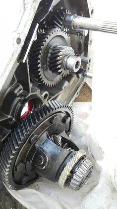 Diferential in transmission, from Felicia engine Felicia, Engineering, Home Appliances, House Appliances, Appliances, Technology