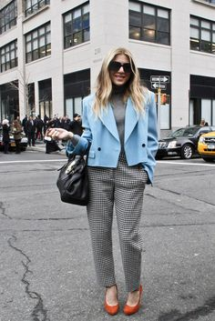 Business Casual on NY Streets