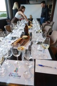 School of Wine in Perth city with Christina Pickard