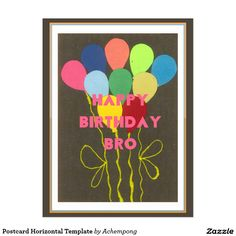 Postcard Horizontal Template Hakuna Matata Birthday Cards & Invitations e #Amazing #beautiful #stuff and #gift #products #sold on #Zazzle #Achempong #online #store #for #the #ultimate #shopping #experience