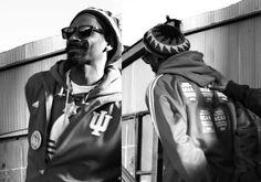 Snoop w/ his #iubb jacket.