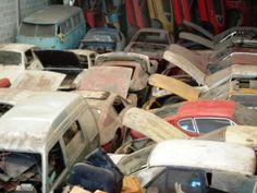 Brazilian VW Warehouse Find, probibly some rare cars that are worth some serious money in there!