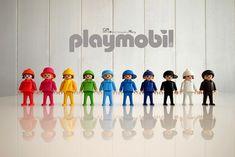 彩色摩比~小孩版 | 湊同色蝴蝶結很不簡單啊!! | maryshih | Flickr Constellations, Lego, Under The Rainbow, Retro Toys, Jouer, New Toys, Shadow Box, Doll Toys, Bunt