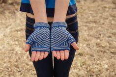 God's Eye Mitts - Knitting Daily