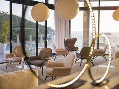 Zenith Bar at Hotel Kompas - Iconic contemporary design runs through Hotel Kompas Dubrovnik's three bars and restaurant directly overlooking the main promenade.